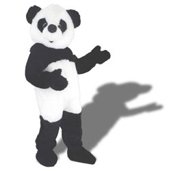 Poppy Panda Mascot Adult Costume
