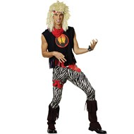 Rock God 80's Adult Costume