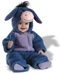Baby Eeyore Plush Bodysuit Infant/Toddler Costume