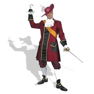 Captain Hook Prestige Adult Costume