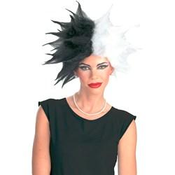 Cruella De Vil Deluxe Wig Adult