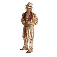 Iced Pimp Ensemble Gold Adult Costume