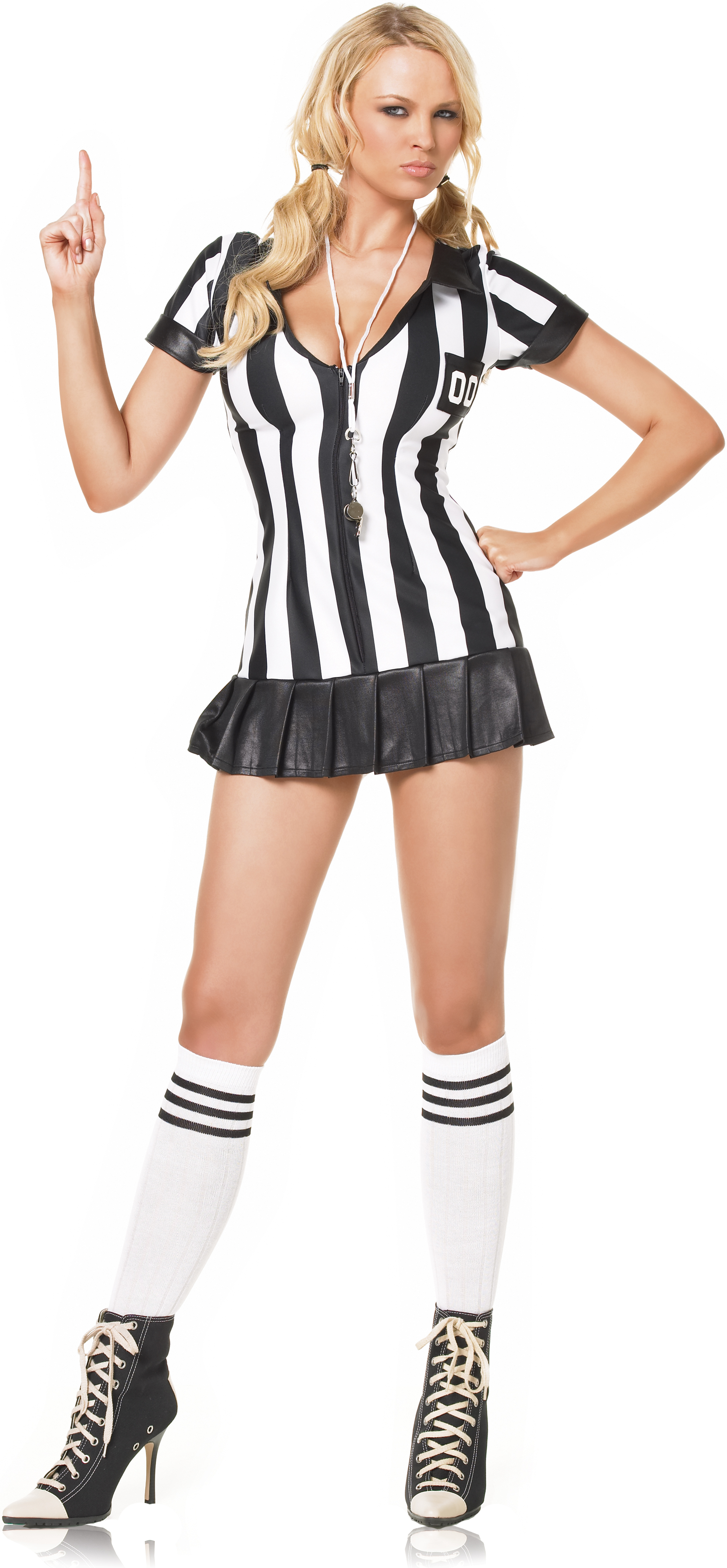 Pleated Penalizer Referee Adult Costume