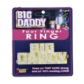 Big Daddy Four-Finger Ring