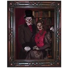 Lenticular Horror Frame Couple