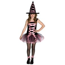 Witchy La Bouf Pink Teen Costume
