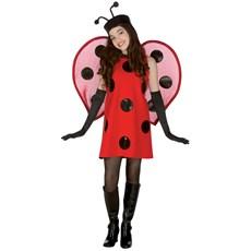 Lady Bug Deluxe Teen Costume