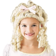 Baby Doll Child Wig - Blonde