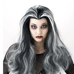 Black/White Vampire Wig