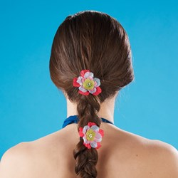 Island Flower Hairbands (6 count)