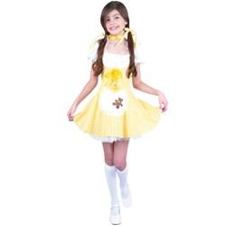 Goldee Locks Child Costume