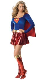 SuperGirl Deluxe 1pc