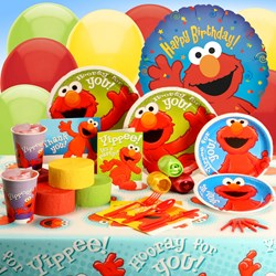 Hooray For Elmo Deluxe Party Kit