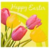Easter Tulips Happy Easter Lunch Napkins (16 count)