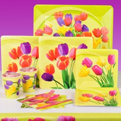 Easter Tulips Party Kit