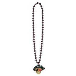 Pirate Skull Beads with Flashing Eye
