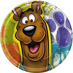 Scooby Doo Dessert Plates (8 count)