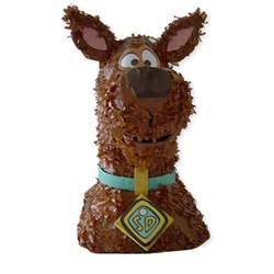 Scooby Doo 3D Pull String Pinata