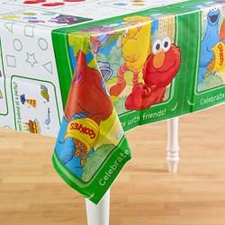 Sesame Street Sunny Days Plastic Tablecover