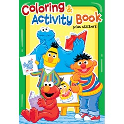 Sesame Street Sunny Days Activity Books (4 count)