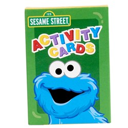 Sesame Street Sunny Days Activity Cards (4 count)