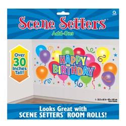 5' Happy Birthday Balloons Add-On