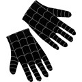 Black-Suited Spider-Man 3 Adult Gloves