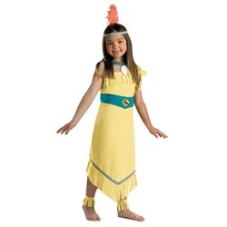 Disney Pocahontas Deluxe Child Costume