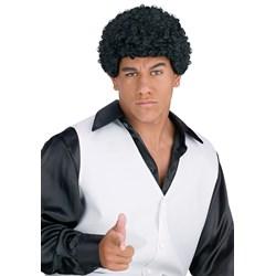 Jheri Curl Black Wig