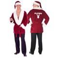 Playboy Hef's Santa Jacket Plus Adult Costume