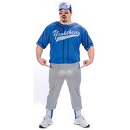 Baseball Nut Adult Plus Costume