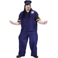 Way High Patrolman Adult Plus Costume