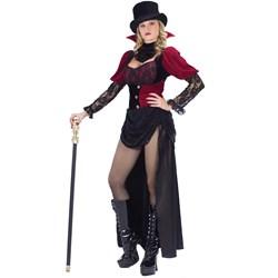 Burlesque Victorian Vampiress Adult Costume