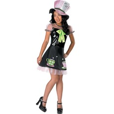Mad Hatter Pre-Teen Costume