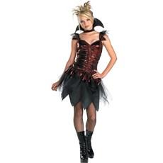 Glitzy Vampira Teen Costume