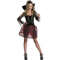Old World Vampira Teen Costume