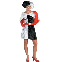Disney Cruella De Vil Teen Costume