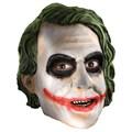 Batman Dark Knight Adult Joker 3/4 Vinyl Mask