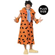 Flintstones Fred Fllintstone Plus Adult Costume