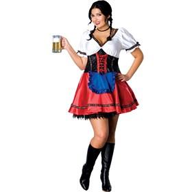 Beer Garden Girl Adult Plus Costume