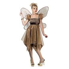 Metallic Copper Fairy Teen Costume