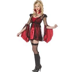 Bijou Victorian Vampiress Adult Costume
