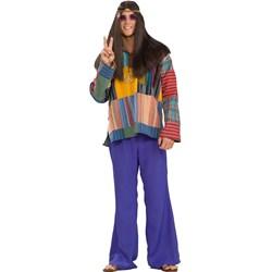 Blue Bell Bottom Pants Adult Costume
