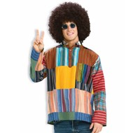 Patchwork Shirt Adult Costume