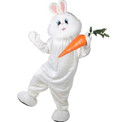 Bunny Plush Economy Mascot Adult Costume