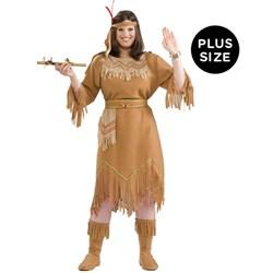 Indian Maid Adult Plus Costume