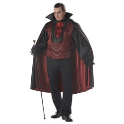 Count Bloodthirst Plus Adult Costume