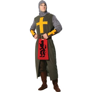 The Noble Crusader Adult Costume