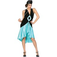 Puttin' on the Ritz - Teal Adult Costume