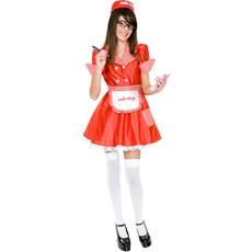Soda Shop Waitress Teen Costume